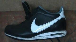 Ремонт обуви. Кроссовки  Repair running loafers(What repair lining running loafers Как заменить подкладку задника в кроссовках. Материал - свиная подкладочная кожа толщ..., 2013-05-16T16:13:58.000Z)