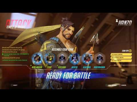 Overwatch experience on PS4 for Singapore players