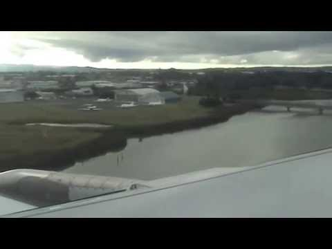 Fly from Niue to Auckland NZ: 21/02/14 [Clip 2]