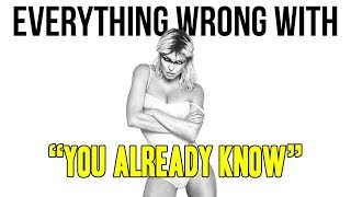 Everything Wrong With Fergie 34 You Already Know ft