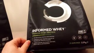Bulk Powders - Informed Whey Unboxing - @AndroSupplement