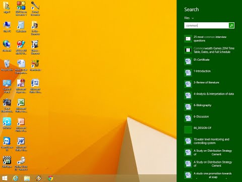 How to Search Files and Text Content in Windows 8 & 8.1