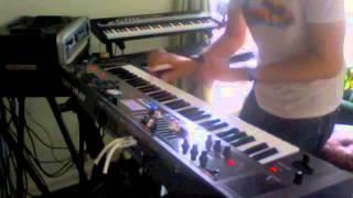 Roland VR-09 Keyboard: - B3 Organ jam.