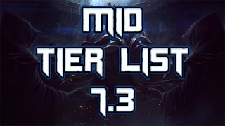 Mid Lane Tier List Patch 7.3 | Best Mid Laners For Solo Queue 7.3