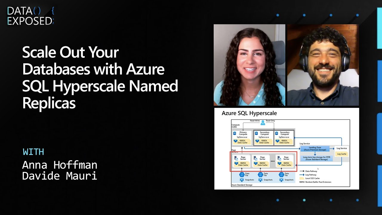 Scale Out Your Databases with Azure SQL Hyperscale Named Replicas   Data Exposed