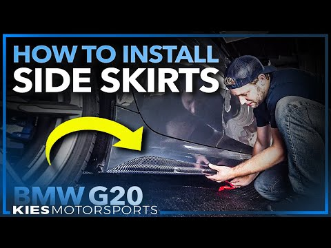 how-to-install-carbon-fiber-side-skirt-extensions-on-a-bmw-g20-m340i