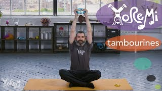 Yo Re Mi – Tambourine Stretching (Kids Music and Yoga)