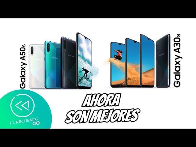 Galaxy A30s y A50s son oficiales   El Recuento Go