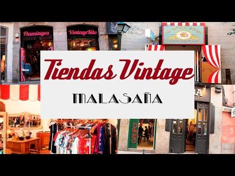 Tiendas VINTAGE Malasaña  | Luci Peralta