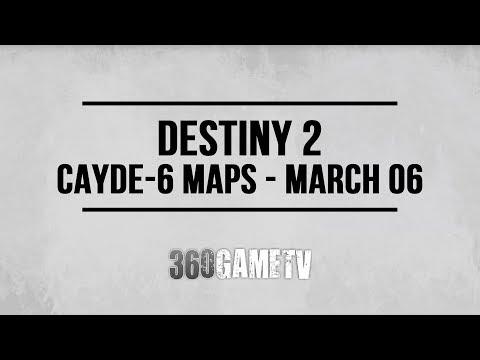 Destiny 2 Nessus Treasure Map Locations (Cayde-6 Treasure Maps 06/03 - 13/03 - Week #27)