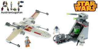 Set 75235 LEGO Star Wars X-Wing Starfighter Trench Run