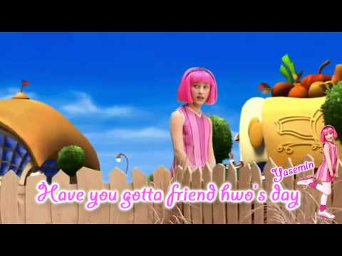 LazyTown - Have You Ever Been Sad (With Lyrics)