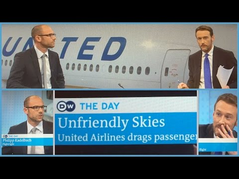 "A Real Drag. United  Airlines ""Re-Accommodates"" a Passenger"
