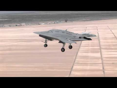 A Day in the Life of X-47B UCAS