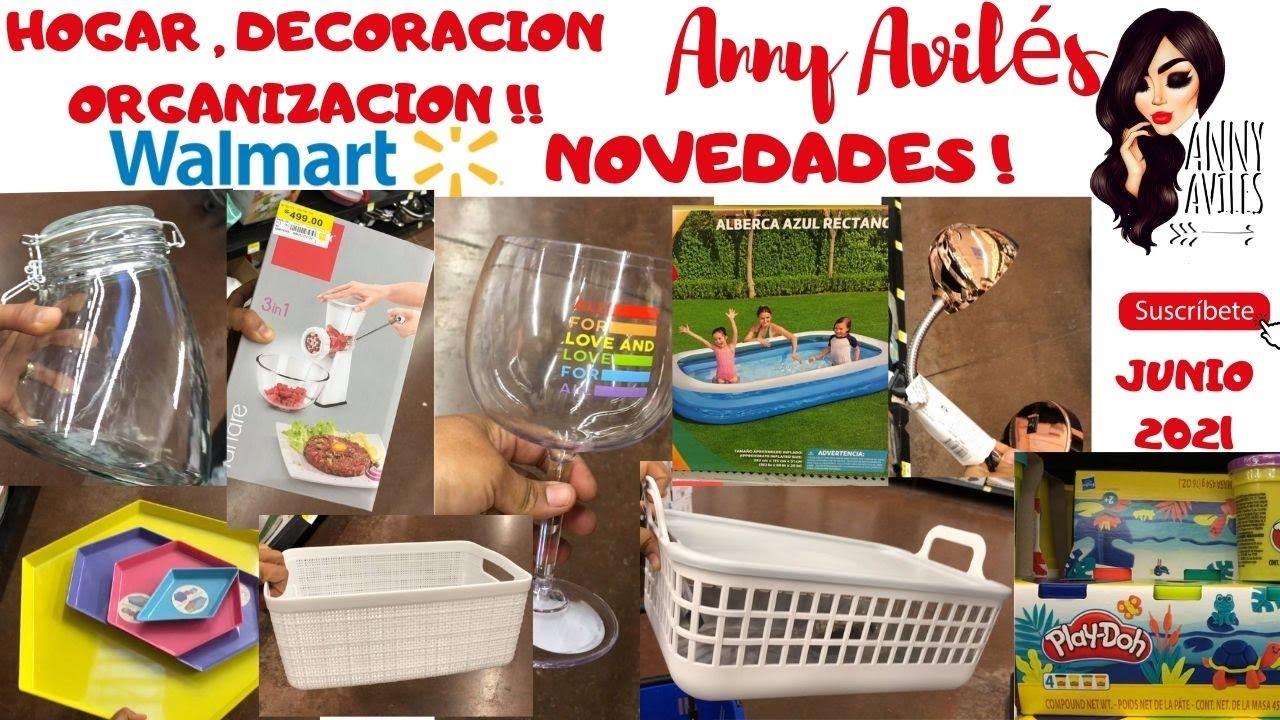 Walmart Decoración organización hogar