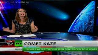 MUST SEE-ELEnin RT news +Other Comets 2011-12 Time is near,fearmongering hype(Comet,planet x,nibiru)