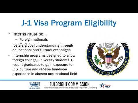 Internships in the United States: Intro to J-1 Visa Internship Opportunities