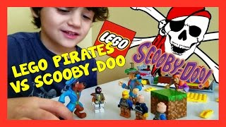 Lego Pirates vs Scooby-Doo Epic Lego Freestyle Build | Banchi Brothers Kids Toy Review thumbnail