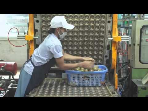 How tennis balls are made and manufactured - Wilson US Open