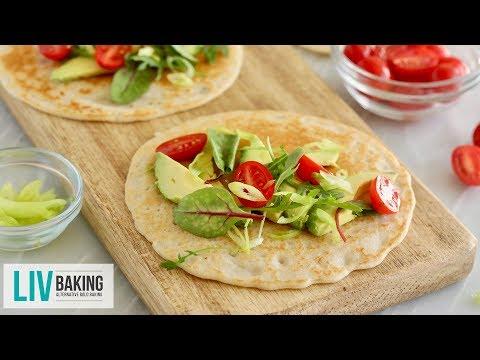 3-Ingredient Gluten-Free Flatbread | Liv Baking