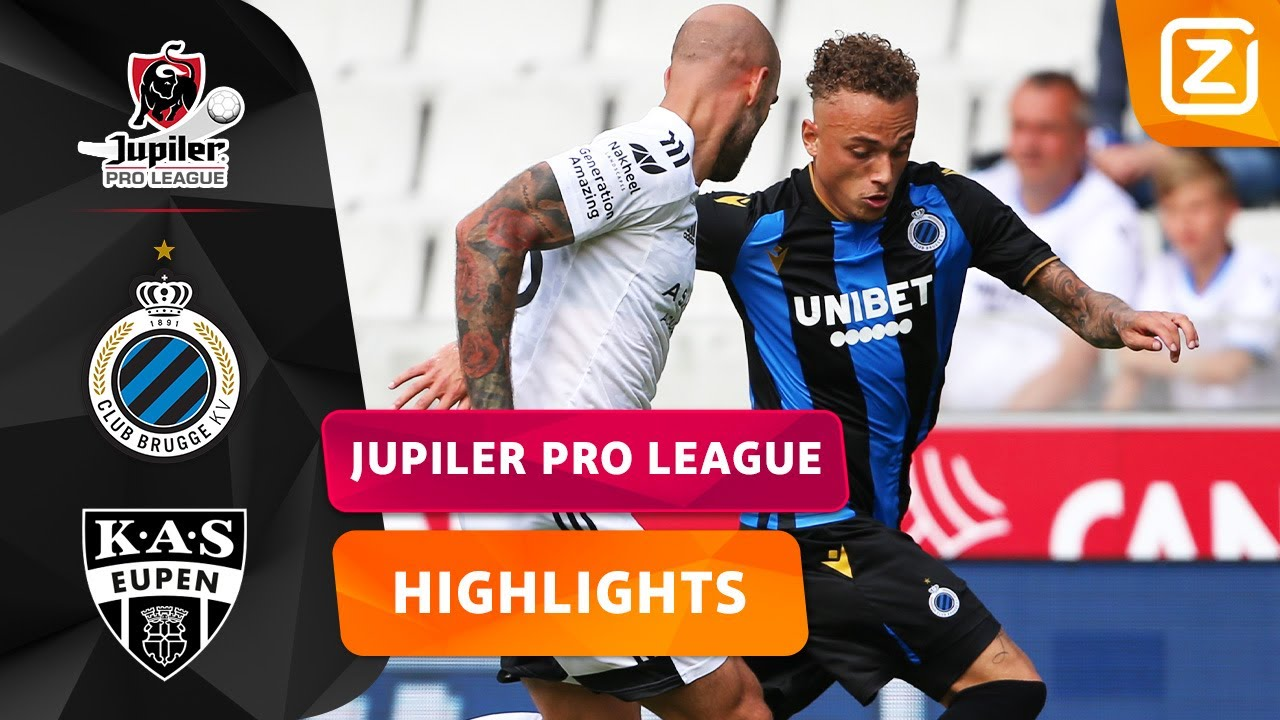 SPANNING IN DE EXTRA TIJD! ⏱ | Club Brugge vs Eupen | Jupiler Pro League 2021/22 | Samenvatting