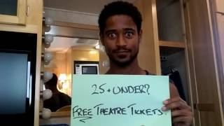 Alfred Enoch's #Charadespeare #YoungandFree