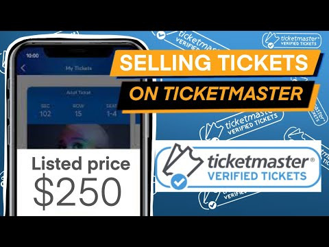 HOW TO LIST AND SELL TICKETS ON TICKETMASTER | THE COMPLETE GUIDE