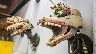 The Puppets Inside Jim Henson's Creature Shop
