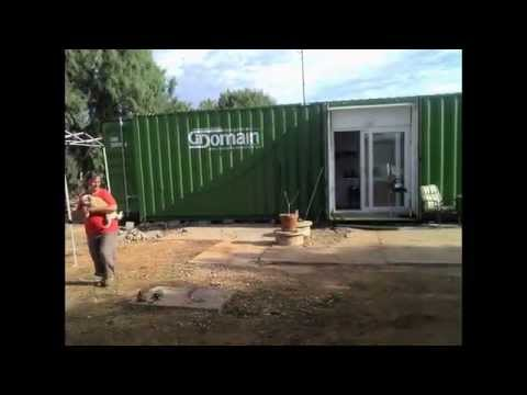 my 40 foot container home www.containerhomes.net.au