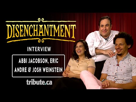 Abbi Jacobson, Eric Andre & Josh Weinstein  Disenchantment