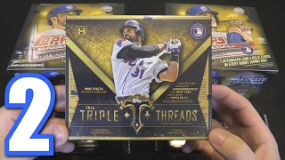 TOPPS TRIPLE THREADS BOX BREAK! | Opening Packs #2 thumbnail