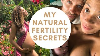 Natural Fertility Secrets: How to BOOST YOUR FERTILITY and chances of conception TODAY!🤰🏽🤱🏽💜✨