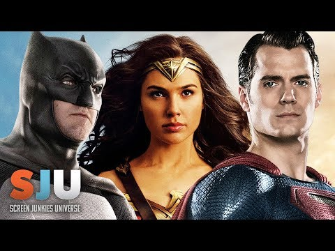 Is DC Rethinking a Shared Universe After Justice League? - SJU