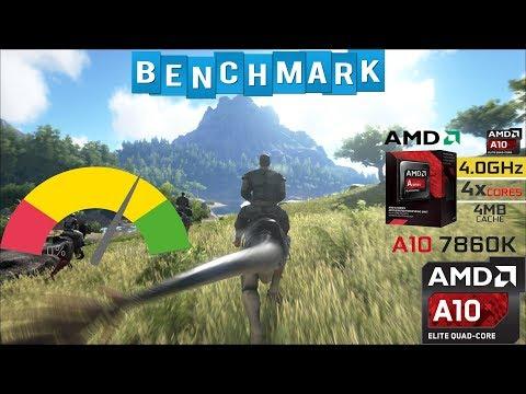 Benchmark Ark Survival Evolved AMD A10 7860K 8GB RAM