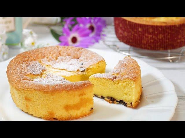 ホットケーキミックスとダイソーの紙型で作るチョコチップベイクドチーズケーキ baked cheesecake with 12cm paper type 【DAISO】