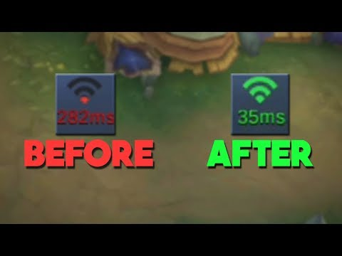 Fix Your Lag (Ms/Ping) in Mobile Legends! (Speed Mode Test)