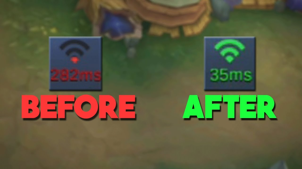 Fix Your Lag Ms Ping In Mobile Legends Speed Mode Test