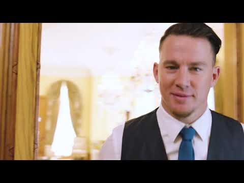 Channing Tatum teaches the Magic Mike Live London boys British etiquette