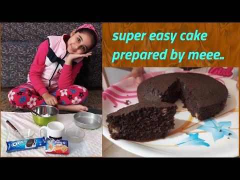 How To Make Instant, Biscuit Cake | Kids Recipe | SUPER SANVI