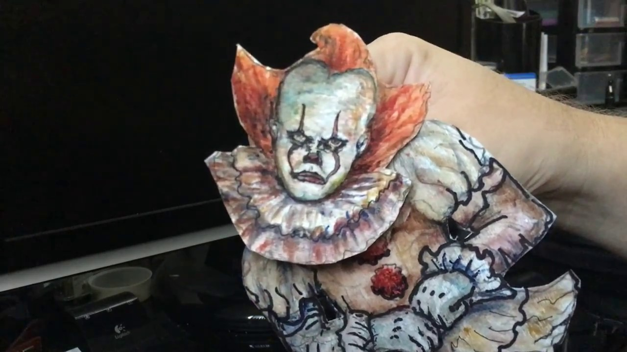 How To Make It Pennywise Dancing Clown Puppet 2017 New It Movie Remake