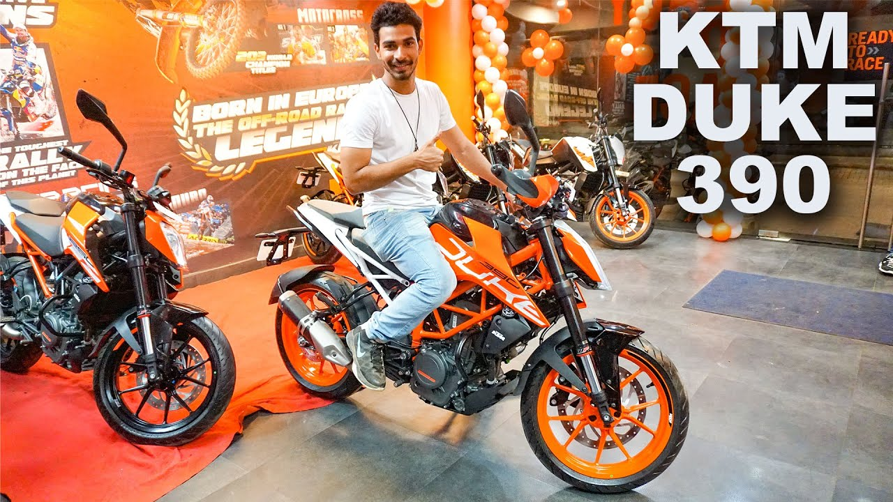 Booked 2017 KTM Duke 390 | First Showroom Launch India ...