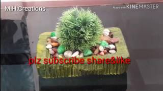 Make beautiful flower pot at home