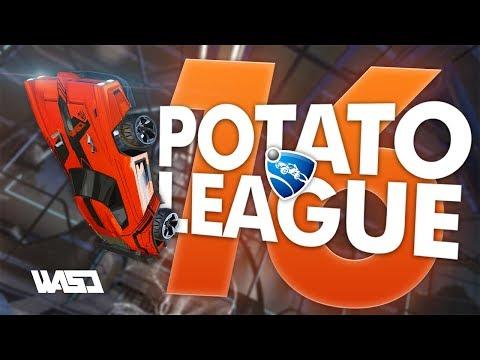 POTATO LEAGUE #16 | Rocket League Funny Moments & Fails thumbnail