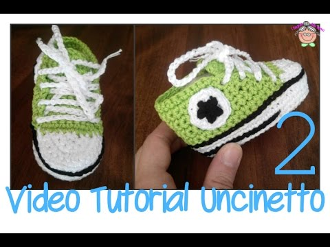 Tutorial Uncinetto Come Si Fanno Le Scarpine All Star Converse