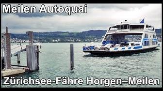 Ferry @ Meilen, Lake Zurich, Switzerland / Meilen Autoquai / Zürichsee-Fähre Horgen–Meilen