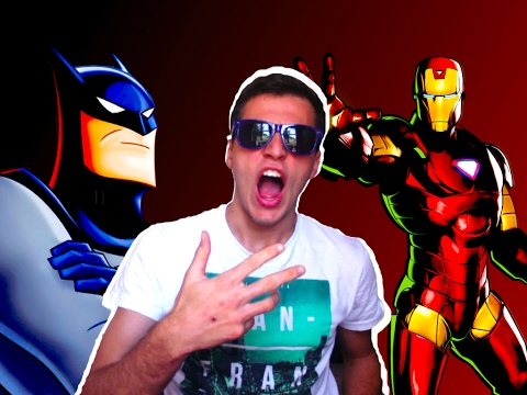 BATMAN VS. IRON MAN / Batallas Frikis VIDEO REACCION