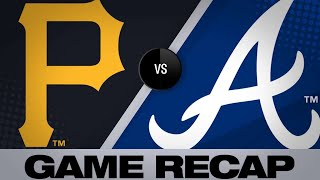 6/11/19: Braves top Pirates in rain-shortened game