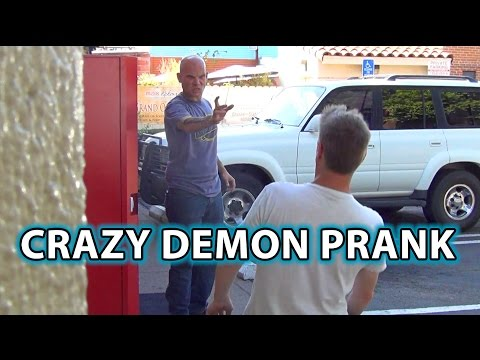 Creepy DEMON PRANK! Epic Magic Scare Trick!