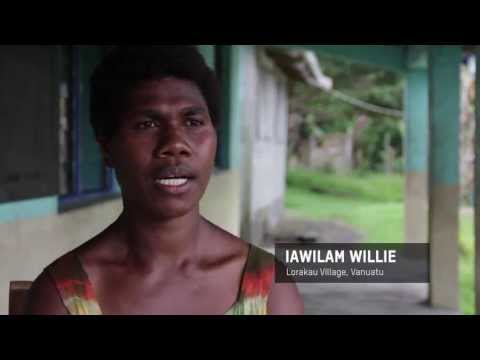 Safe water in Vanuatu