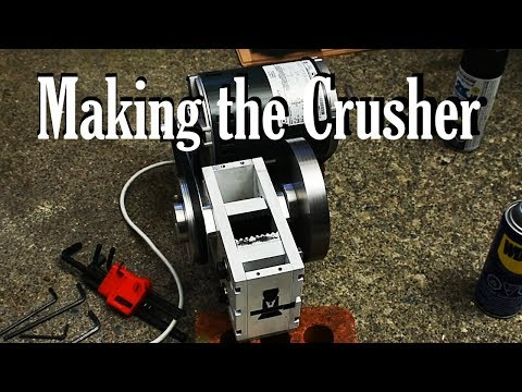 Miniature Rock Crusher:  Design and Machining
